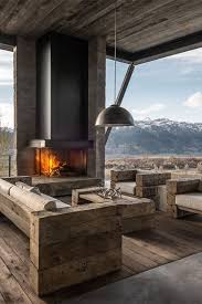 Best Chalets And Mountain Homes Interiors Images On Pinterest - Mountain home interior design