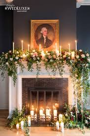 fire place wedding flowers toronto wedding bliss luxe weddings