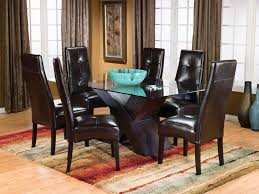 wingback dining room chairs dining room tufted dining room sets 00025 tufted dining room
