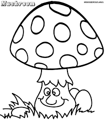 mushroom coloring pages 2 nice coloring pages for kids