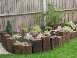 Garden Sleeper Ideas Wooden Garden Dividers 37 Garden Edging Ideas How To Ways For
