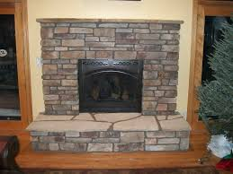 simple stone front fireplace home design new cool under stone