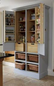 real wood kitchen pantry cabinet 51 clever solution standing rack kitchen decor ideas