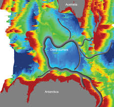 Map Of Ocean Currents File Csiro Scienceimage 11128 The Bathymetry Of The Kerguelen