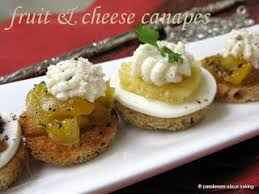bases for canapes multi grain canapes with fruit toppings more eats