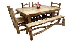 Log Dining Room Table by Aspen Dining Table