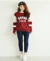 junior sweaters 2017 kpop junior fashion collar plus