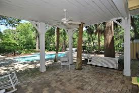 Southern Patio Southern Beach Living Private Pool U0026 Spa Short Walk To Beach