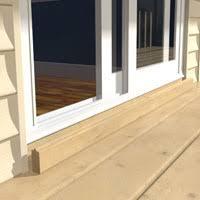 Patio Door Sill Bfd Rona Products Diy Install A Sliding Patio Door