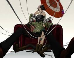 White Flag Lyrics Gorillaz Noodle Gorillaz Zerochan Anime Image Board
