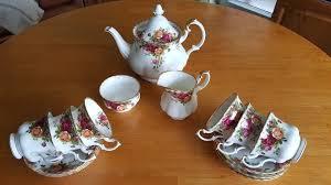 country roses tea set royal albert country roses tea set in southport merseyside