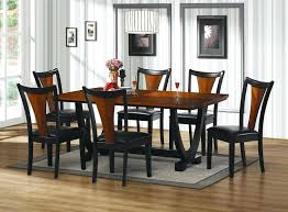116 astonishing grey leather dining room chairs for black dining