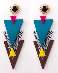 eighties earrings rock earrings are fly kickin it school 80s