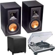 home theater subwoofer amp klipsch r15pm powered monitor bluetooth speakers subwoofer