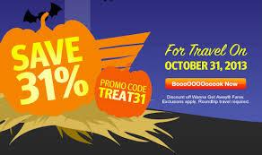 Halloween Sale Southwest Halloween Sale Offering 31 Off Halloween Flights U2014ends