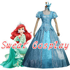 Princess Ariel Halloween Costume Compare Prices Ariel Dress Costume Adults Shopping