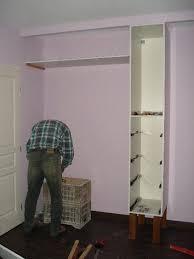 fabriquer une chambre faire un placard dans une chambre amazing fabrication with comment