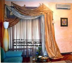 Best  Scarf Curtains Ideas On Pinterest Curtain Scarf Ideas - Living room curtain design ideas