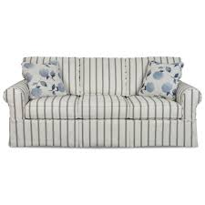 queen memory foam sleeper sofa casual slipcover sleeper sofa with queen memory foam mattress by