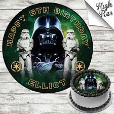 wars edible image wars edible birthday cake topper decoration