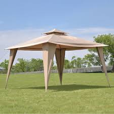 Gazebo Awning Costway Op3110cf 2 Tire 11 U0027x11 U0027 Gazebo Canopy Shelter Awning Tent