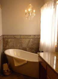 these homeowners chose to replace a corner jetted tub with this