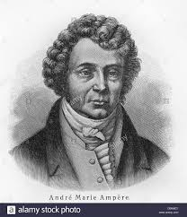 andre marie ampere stock photo royalty free image 52184951 alamy