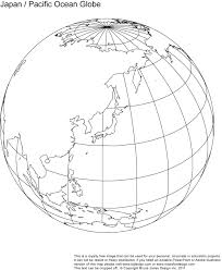 Blank Map Of Western Hemisphere by Drawn Globe Printable Pencil And In Color Drawn Globe Printable