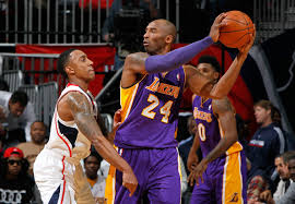 kobe bryant and jeff teague photos photos zimbio