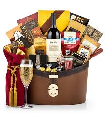 luxury gift baskets groth vineyards cabernet luxury gift basket wine baskets