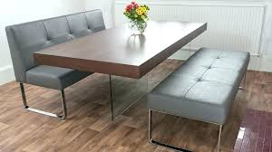 Dining Room Tables With Benches Bench Dining Room Sets Thesoundlapse