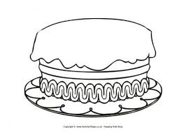 Get This Printable Birthday Cake Coloring Pages Online 85256 Birthday Cake Coloring Pages