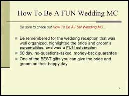wedding reception programs exles wedding reception speeches