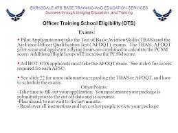2 fss fsde base training and education services commissioning ppt
