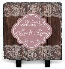 personalised wedding gifts personalised wedding slate personalised wedding gifts wedding