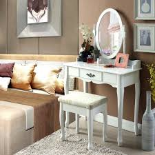 vanity table for living room langria vanity makeup and dressing table with adjustable oval swivel