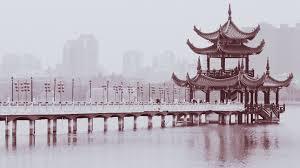 chinese design chinese monochrome 1920x1080 wallpaper design bridges buildings