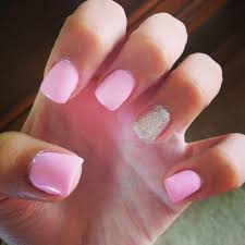 nail art awesome gel nails at home gel nails light pink with