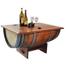 Wine Barrel Home Decor Making Wine Barrel Table U2014 Jen U0026 Joes Design