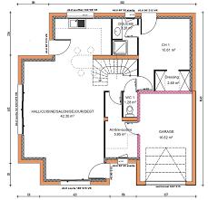 plan de maison a etage 5 chambres prévisions de maisons à contruire en loire atlantique 44