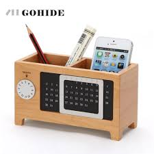 Office Desk Organizers by Online Buy Wholesale Wooden Desktop Organizers From China Wooden