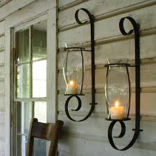 Flameless Candle Wall Sconce Lovely Flameless Wall Sconces Hurricane Glass Flameless Candle