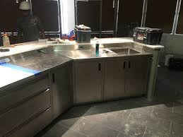 kitchen sink and counter custom sinks counters r k sheet metal inc