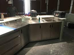 Kitchen Sink Countertop Custom Sinks U0026 Counters R U0026 K Sheet Metal Inc