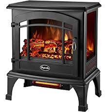 Fire Sense Electric Fireplace - amazon com fire sense 62413 elegante electric fireplace black