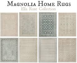 magnolia home rugs ella rose collection hallway living room