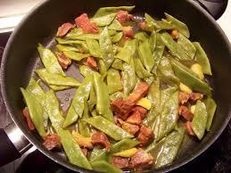 cuisiner des haricots plats plats au chorizo