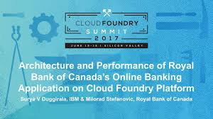 architecture and performance of royal bank of canada u0027s online