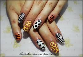 zoo themed nails nails obsession