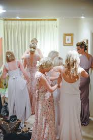 13 bridesmaids for a laid back and glamorous british backyard